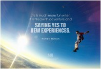 new experiences